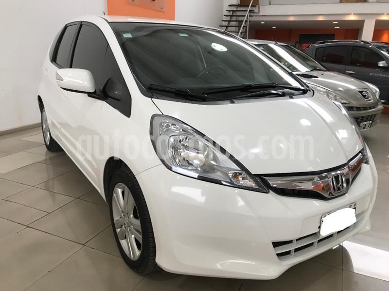 Honda Fit EX  usado (2014) color Blanco precio $759.000