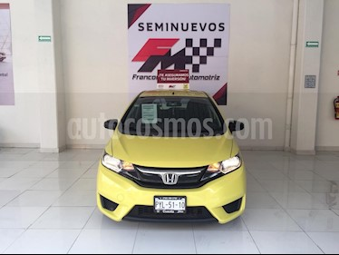 Foto venta Auto usado Honda Fit Cool 1.5L (2015) color Amarillo precio $155,000