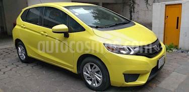 Foto venta Auto usado Honda Fit Fun 1.5L Aut (2015) color Amarillo precio $188,000