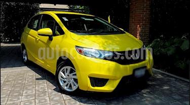Honda Fit Fun 1.5L Aut usado (2017) color Oro precio $160,000