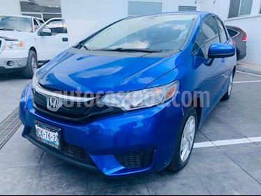 Foto Honda Fit Fun 1.5L Aut usado (2017) color Azul precio $205,000