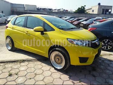 Foto venta Auto Seminuevo Honda Fit Fun 1.5L Aut (2016) color Amarillo precio $190,000