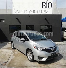 Honda Fit Fun 1.5L usado (2015) color Plata precio $158,000