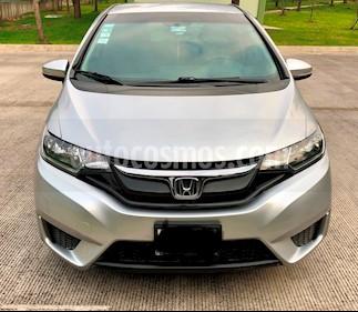 Honda Fit Fun 1.5L usado (2015) color Plata precio $165,000