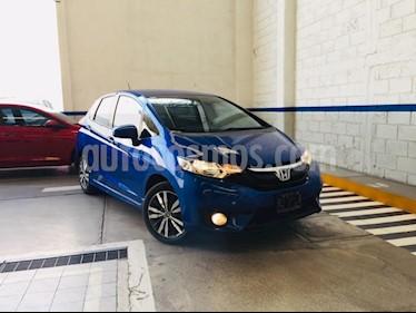 Foto venta Auto usado Honda Fit Hit 1.5L Aut (2017) color Azul precio $225,000