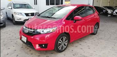 Foto Honda Fit Hit 1.5L Aut usado (2016) color Rojo precio $185,000