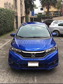 Honda Fit Hit 1.5L Aut usado (2018) color Azul precio $260,000