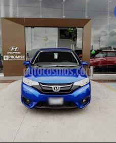 Foto Honda Fit Hit 1.5L Aut usado (2017) color Azul precio $225,000