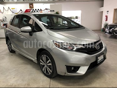 Foto Honda Fit Hit 1.5L Aut usado (2016) color Plata Diamante precio $189,000