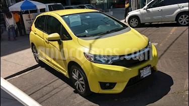 Honda Fit Hit 1.5L Aut usado (2016) color Naranja precio $209,000