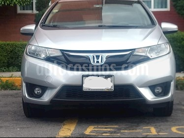 Foto Honda Fit Hit 1.5L Aut usado (2015) color Plata Diamante precio $160,000