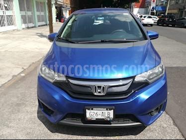 Foto Honda Fit Hit 1.5L Aut usado (2017) color Azul precio $218,000