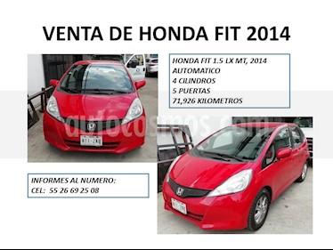 Foto venta Auto usado Honda Fit LX 1.5L Aut (2014) color Rojo precio $132,000