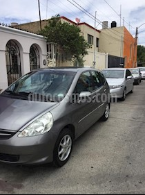 Foto venta Auto usado Honda Fit LX 1.5L CVT (2008) color Gris Magnesio precio $78,000