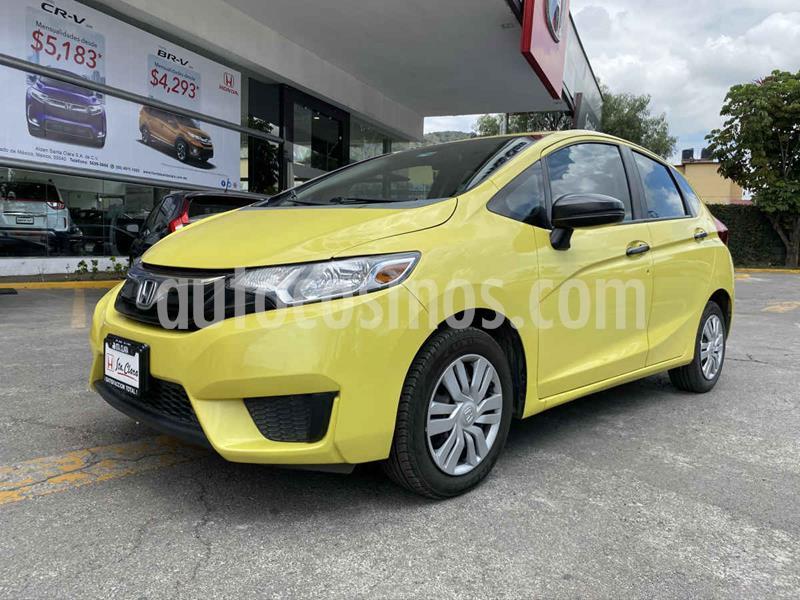 Honda Fit Cool 1.5L usado (2015) color Amarillo precio $137,000