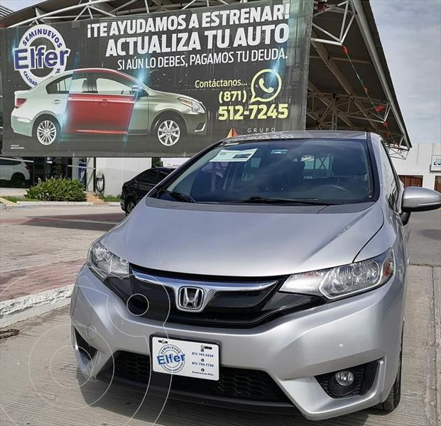 Foto Honda Fit HIT CVT usado (2015) color Plata precio $170,000
