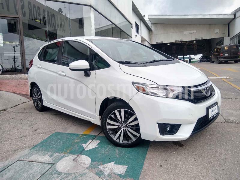 Honda Fit Hit 1.5L Aut usado (2017) color Blanco precio $185,000