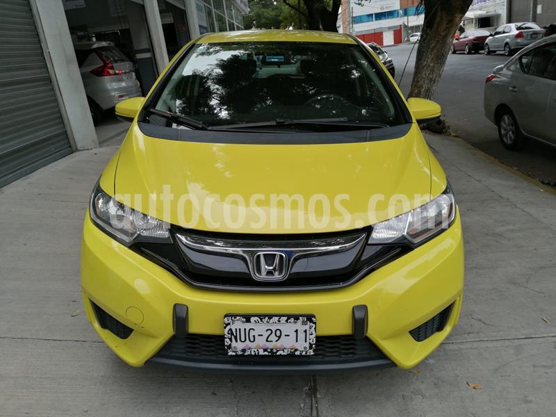 Honda Fit Fun 1.5L usado (2015) color Naranja precio $150,000