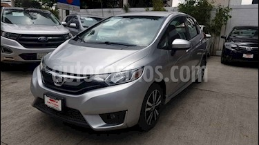 Honda Fit 5p Hit L4/1.5 Aut usado (2016) color Plata precio $170,500