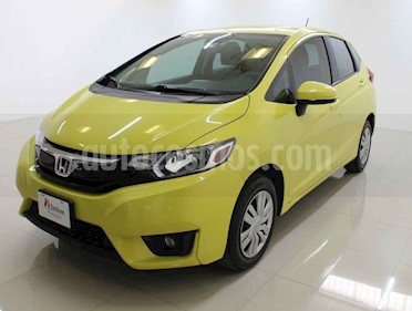 Honda Fit 5 pts. Cool usado (2016) color Amarillo precio $159,000