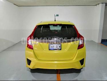 Foto Honda Fit Hit 1.5L Aut usado (2016) color Amarillo precio $195,900