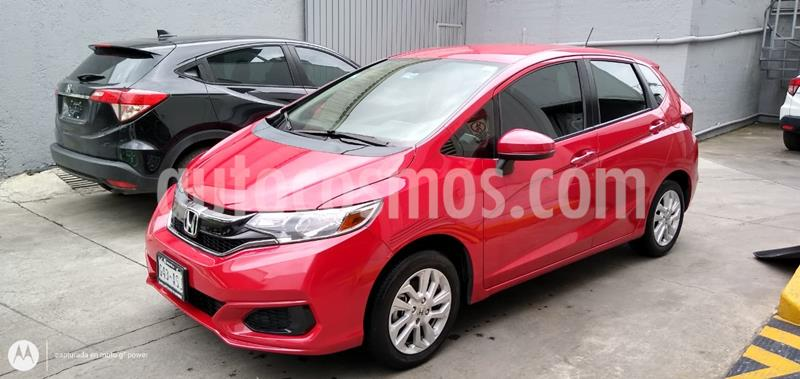 Honda Fit Fun 1.5L usado (2018) color Rojo precio $210,000
