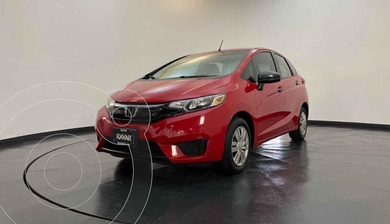 Honda Fit Cool 1.5L usado (2015) color Rojo precio $154,999