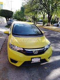 Honda Fit Fun 1.5L Aut usado (2016) color Gris precio $160,000