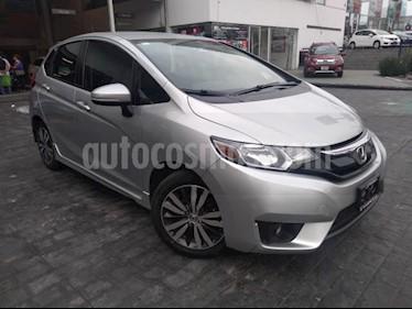 Foto Honda Fit 5p Hit L4/1.5 Aut usado (2015) color Plata precio $193,000