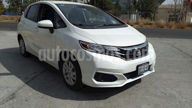 Honda Fit 5P HB FUN TM6 RA-15 usado (2018) color Blanco precio $215,000