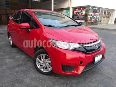 Honda Fit 5P HB FUN TM6 RA-15 usado (2017) color Rojo precio $209,000