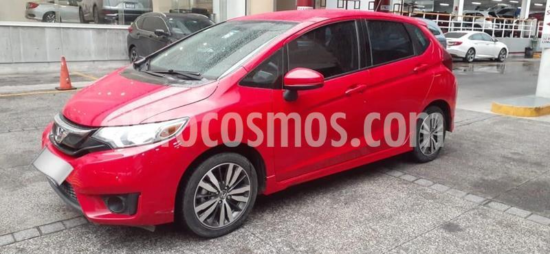 Honda Fit EX 1.5L CVT usado (2016) color Rojo precio $205,000