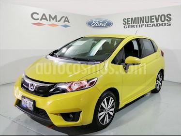 foto Honda Fit HIT CVT usado (2016) color Amarillo precio $184,900