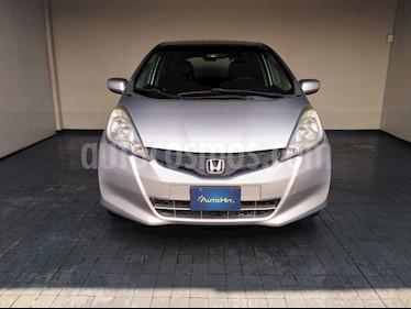 Honda Fit LX 1.5L  usado (2013) color Plata precio $143,500