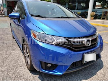 Honda Fit 5P HB HIT CVT BL F. NIEBLA RA-16 usado (2016) color Azul precio $189,000