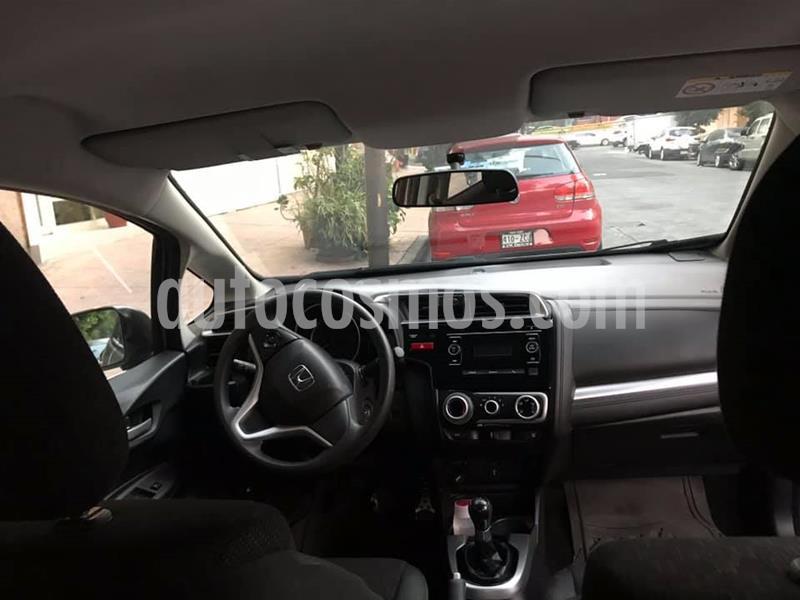 Honda Fit Cool 1.5L usado (2015) color Plata precio $145,000