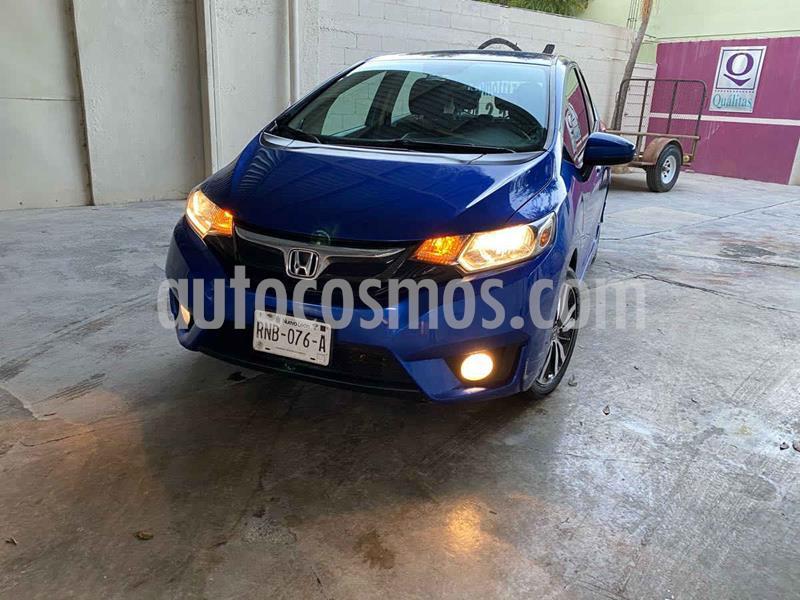 Honda Fit Hit 1.5L Aut usado (2017) color Azul precio $198,000