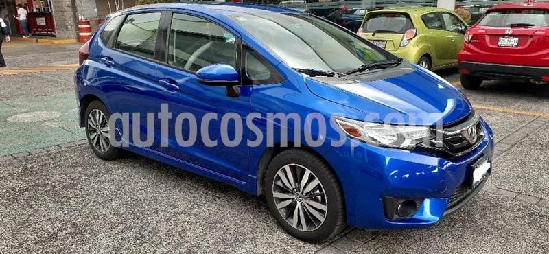 Honda Fit EX 1.5L CVT usado (2016) color Azul precio $209,000