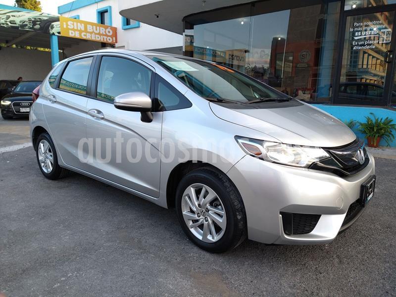 Honda Fit Fun 1.5L usado (2015) color Plata Dorado precio $158,000