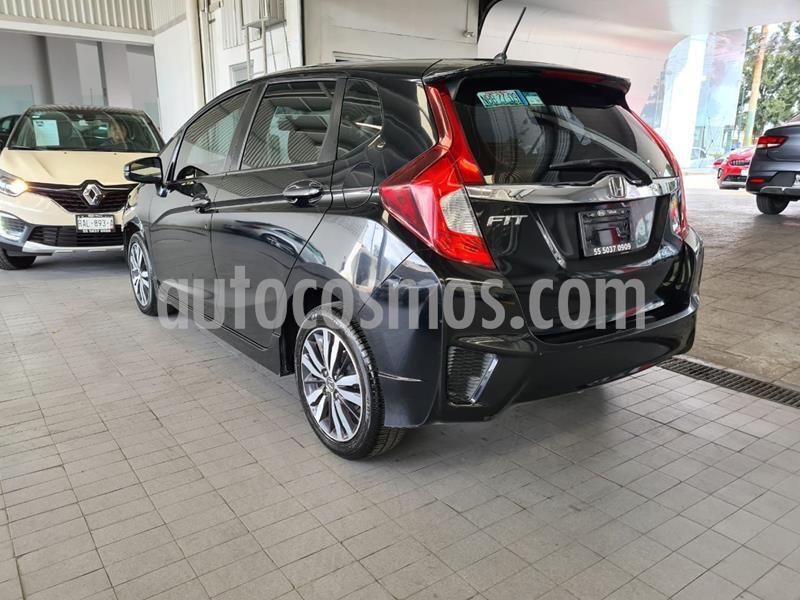 Honda Fit EX 1.5L CVT usado (2017) color Negro precio $190,000