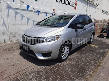 Honda Fit 5P HB COOL AT R-15 usado (2015) color Plata precio $160,000