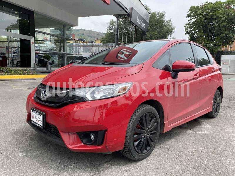 Honda Fit Hit 1.5L Aut usado (2016) color Rojo precio $205,000