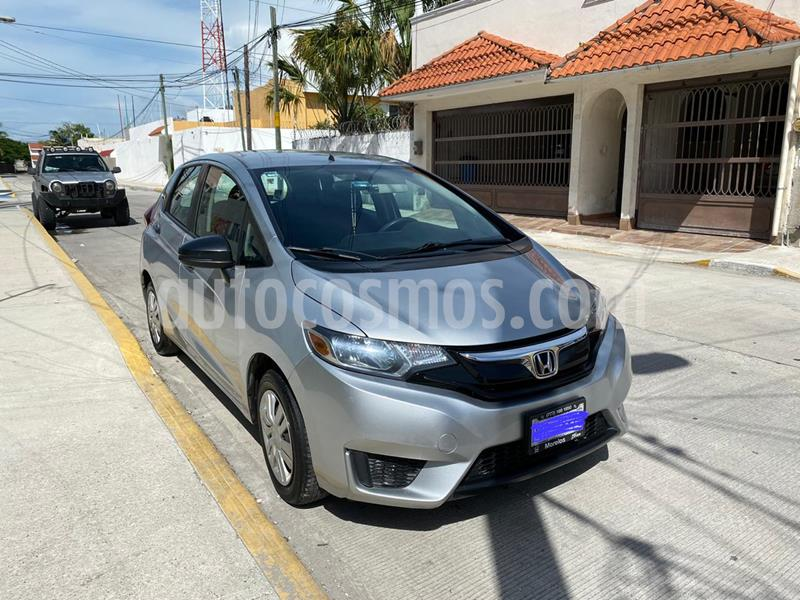 Honda Fit Cool 1.5L usado (2015) color Plata Diamante precio $153,000