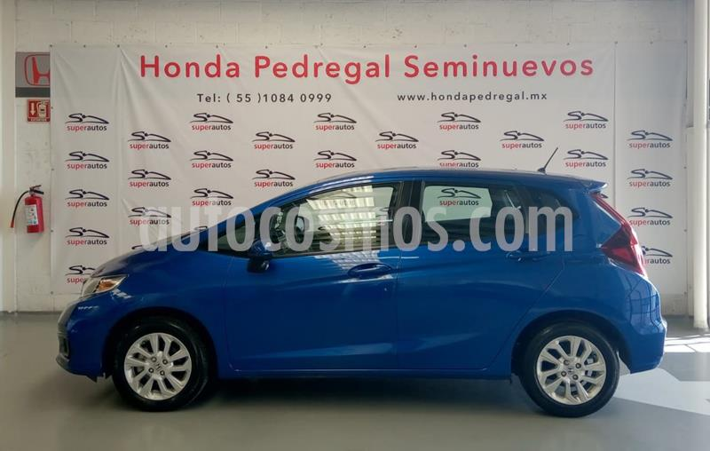 Honda Fit Fun 1.5L usado (2018) color Azul precio $224,000