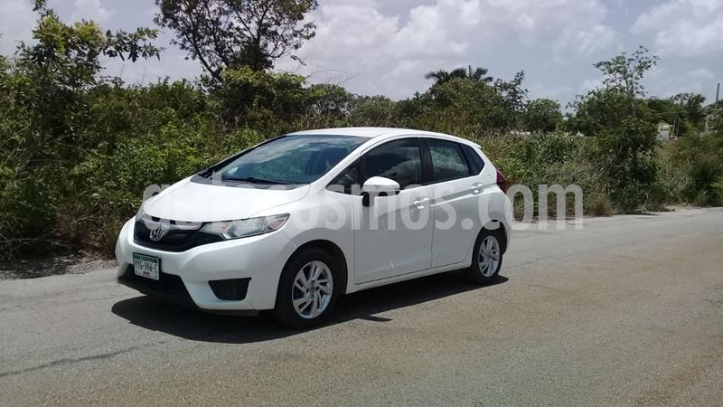Honda Fit Fun 1.5L Aut usado (2015) color Blanco Marfil precio $120,000