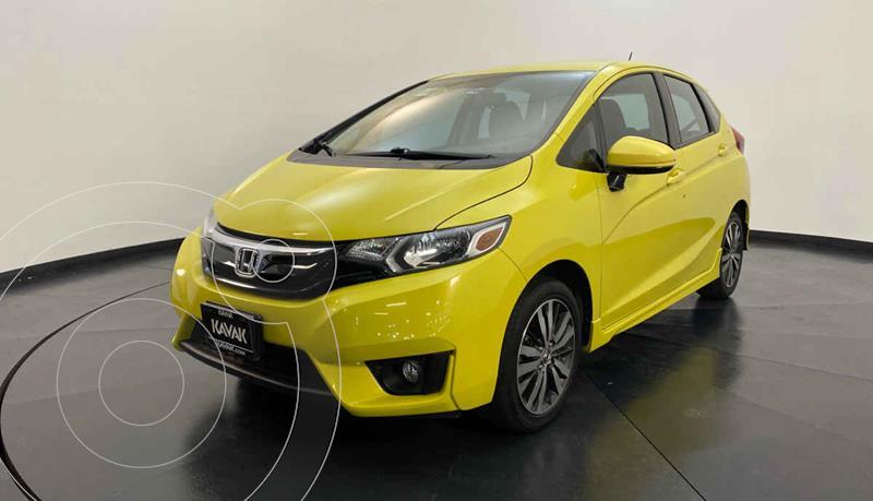 Honda Fit Hit 1.5L Aut usado (2015) color Amarillo precio $177,999