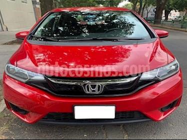 Honda Fit 5P HB HIT CVT BL F. NIEBLA RA-16 usado (2016) color Rojo precio $215,000