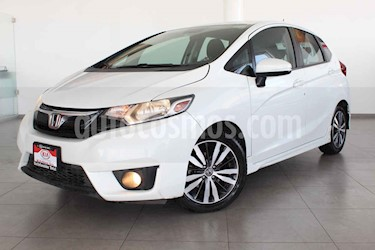 Honda Fit 5p Hit L4/1.5 Aut usado (2017) color Blanco precio $194,000