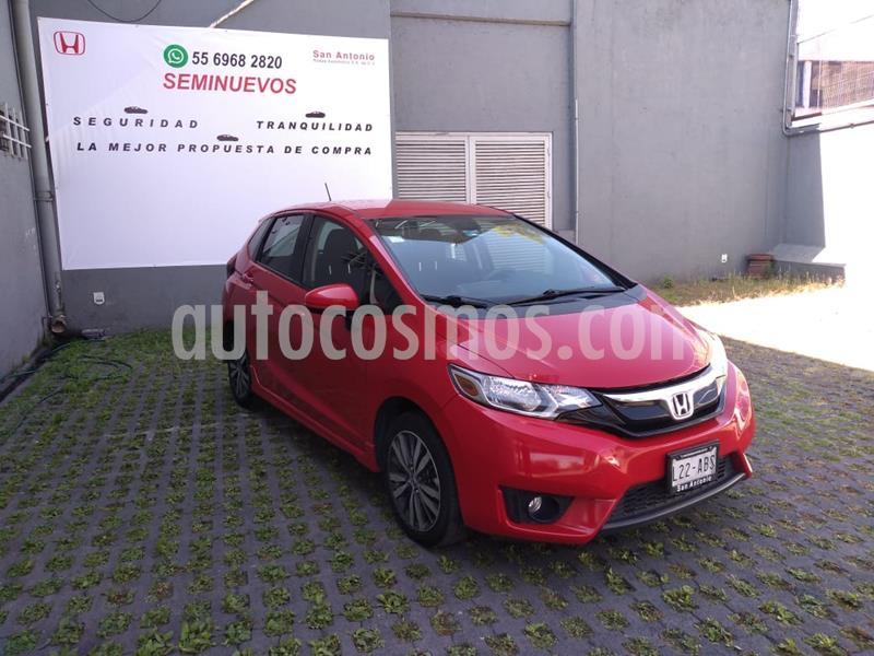 Honda Fit Hit 1.5L Aut usado (2015) color Rojo precio $170,000