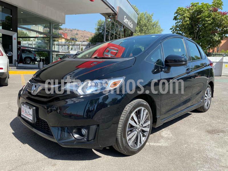 Honda Fit Hit 1.5L Aut usado (2017) color Negro precio $205,000